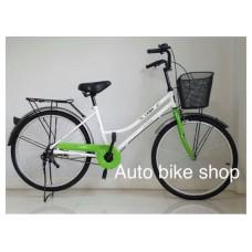 """จักรยานแม่บ้าน ทรงญี่ปุ่น Vintage ล้อ 24"""""""