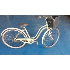 จักรยานแม่บ้านวินเทจใช้งานจ่ายตลาด