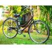 จักรยานแม่บ้านญี่ปุ่นมีเกียร์ ฺBobby Town ระบบไฟหน้าออโต้ - A066