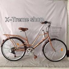 จักรยานแม่บ้าน WCI รุ่นSpecial ตัวถังเหล็กทรงคลาสสิก  ล้อ 24