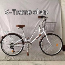 WCI รุ่นSpecial ตัวถังเหล็กทรงคลาสสิก จักรยานแม่บ้าน   ล้อ 24
